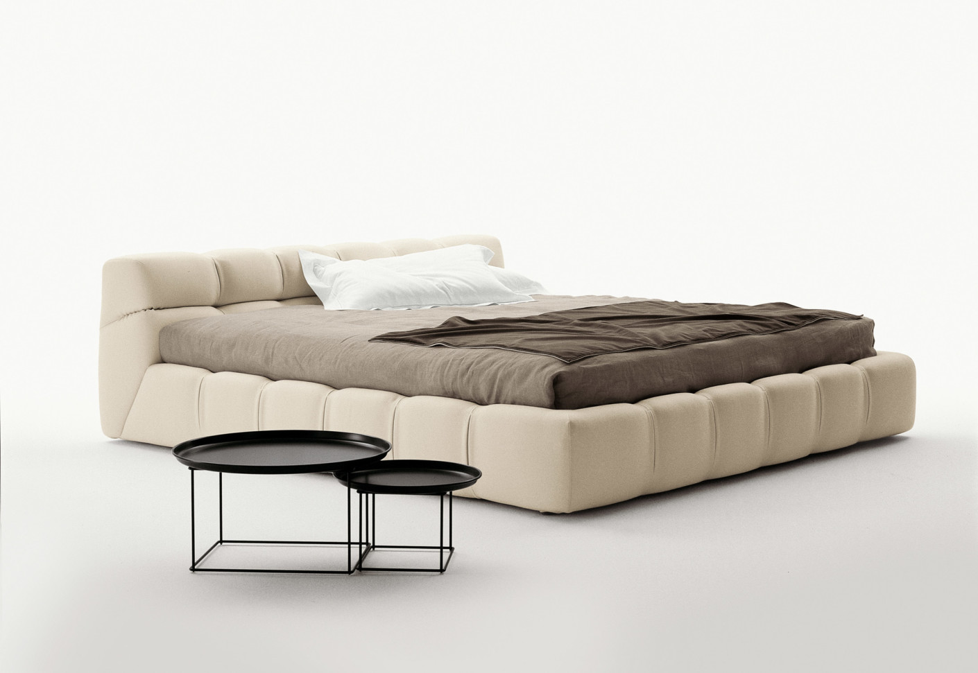 tufty bed by b b italia stylepark