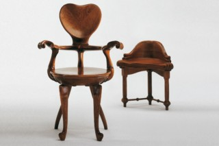 Armchair-sculpture Calvet  by  BD Barcelona Design