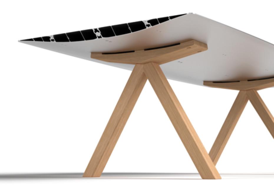 B Table Wood
