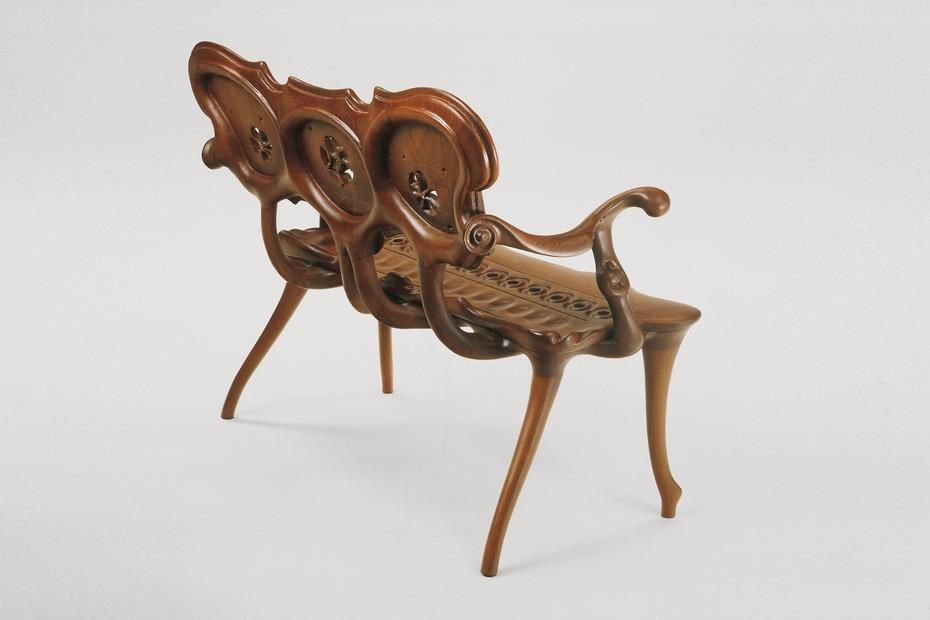 Bench-sculpture Calvet