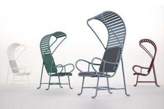 Gardenias Sessel mit Pergola  von  BD Barcelona Design