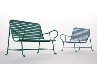 Gardenias bench  by  BD Barcelona Design