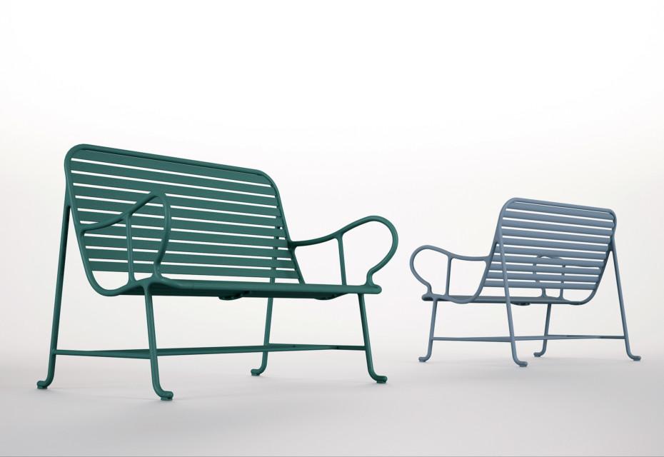 Gardenias bench