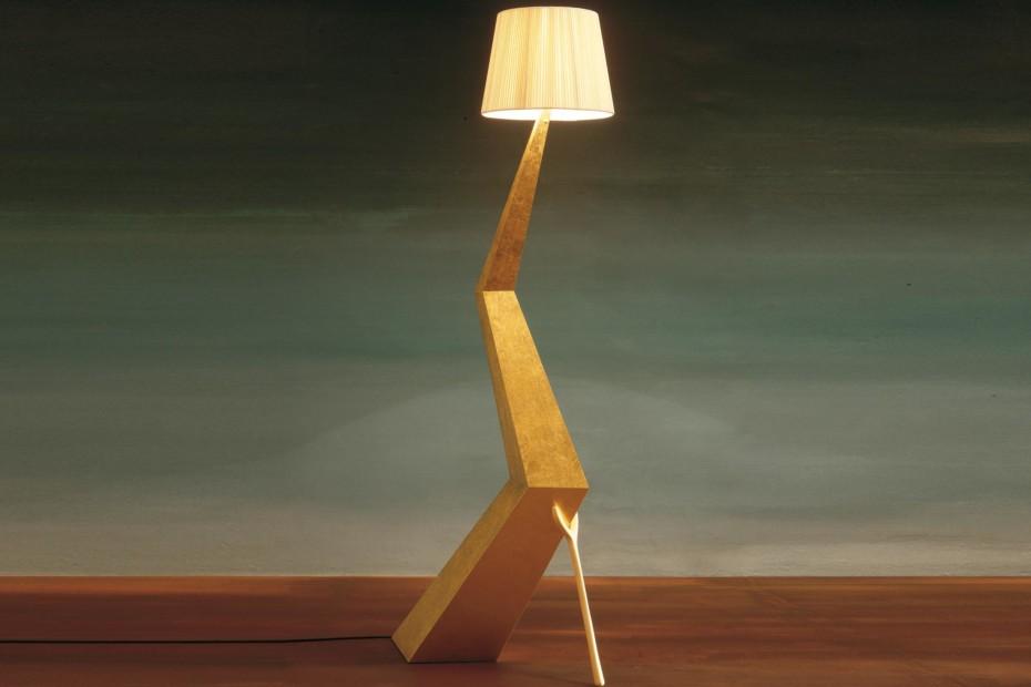 Lamp-sculpture Bracelli
