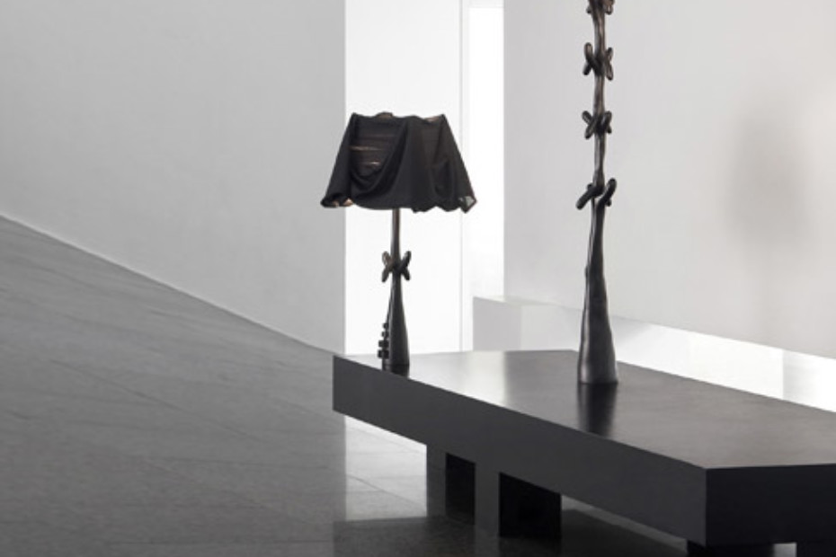 Lamp-sculpture Cajones Black Label