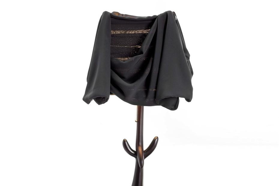 Lamp-sculpture Cajones Black Label