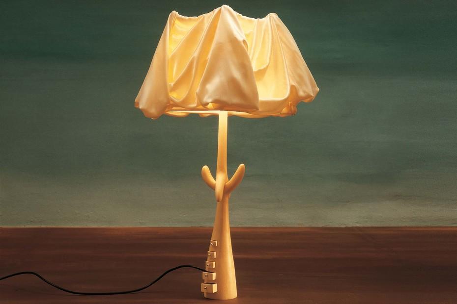 Lamp-sculpture Cajones