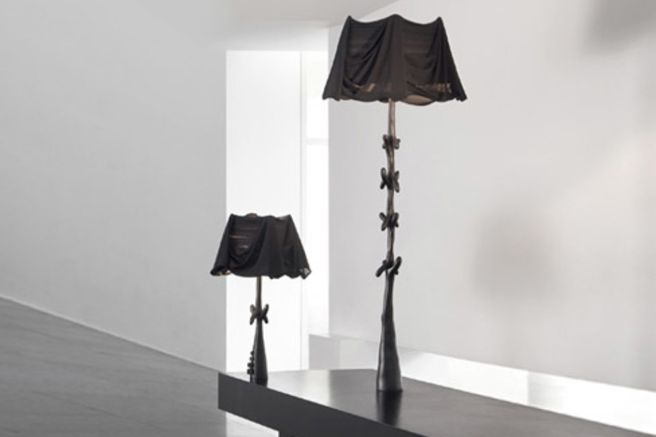 Lamp-sculpture Muletas Black Label