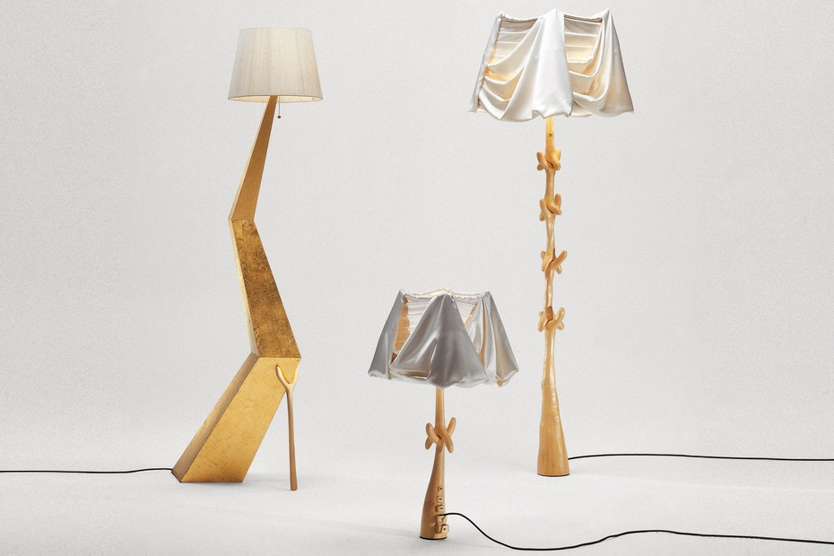 Lamp-sculpture Muletas