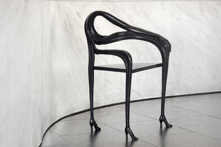 Leda amrchair Black Label  by  BD Barcelona Design