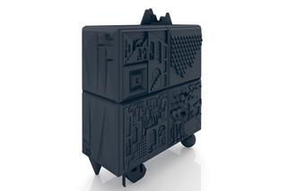 Tout va bien Cabinet Black  by  BD Barcelona Design