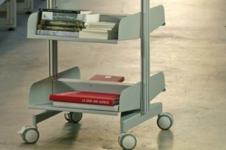 Vertical trolley  by  BD Barcelona Design