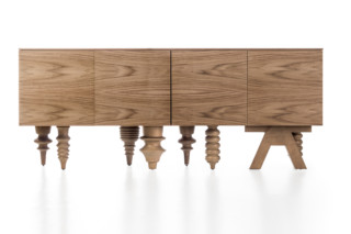 Walnut Multileg Cabinet  by  BD Barcelona Design