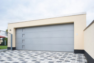 Belu Ga, garage door steel/aluminium  by  BeluGa