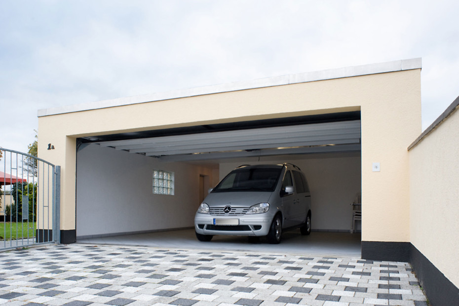 Belu Ga, garage door steel/aluminium