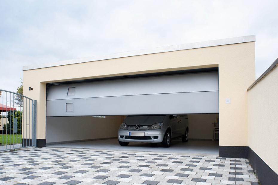 Belu Ga, garage door steel/aluminium