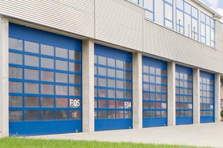 Belu Tec, industrial sectional door  by  BeluGa