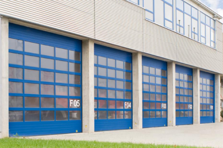 Belu Tec, industrial sectional door