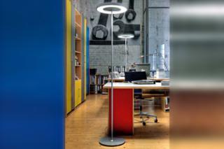Disk-10 floor lamp  by  Belux