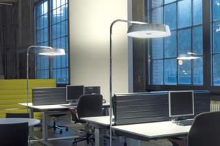 KOI-12 floor lamp curved  by  Belux