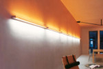 Slim-S wall/ceiling system lamp  by  Belux
