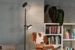 U-Turn 12 floor lamp  by  Belux