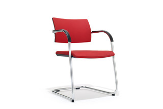 B_Cause cantilever chair  by  Bene