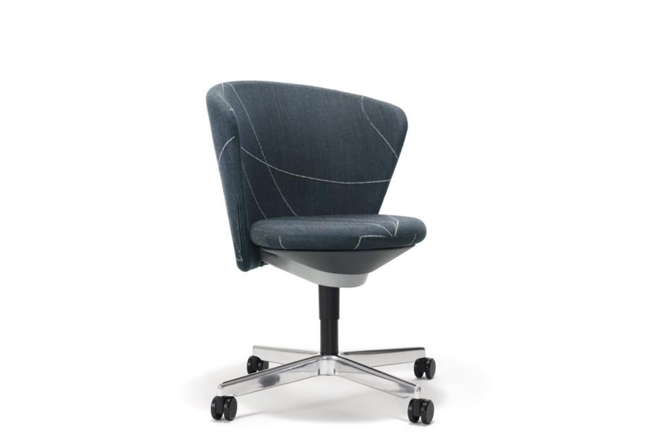 Bay Chair mit Rollen
