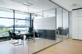 RG Glass wall  by  Bene