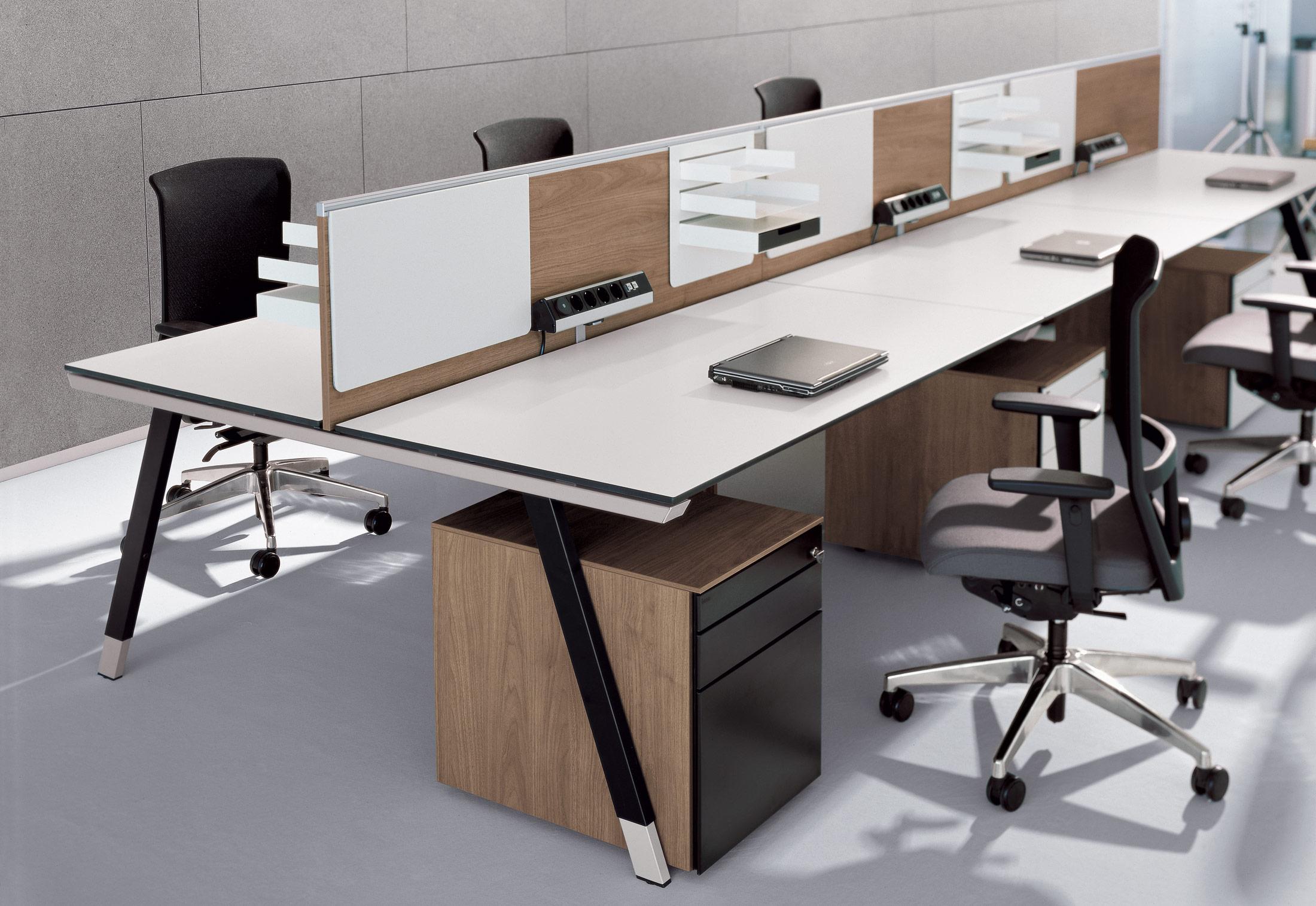 T workbench by bene stylepark for Tisch interaction design