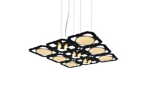 Cluster+ supension  by  benwirth licht