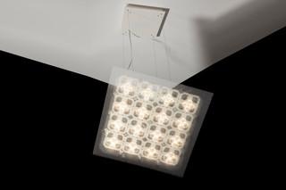 Cluster+Raster Pendelleuchte  von  benwirth licht