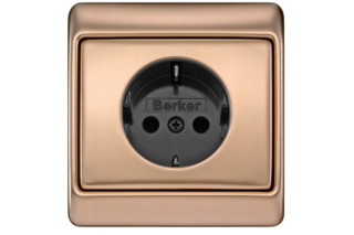 ARSYS socket copper  by  Berker