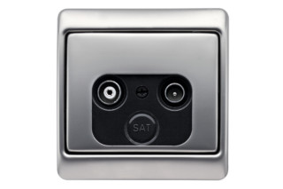 ARSYS tv- socket  by  Berker