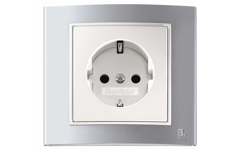 Berker - B.3 socket