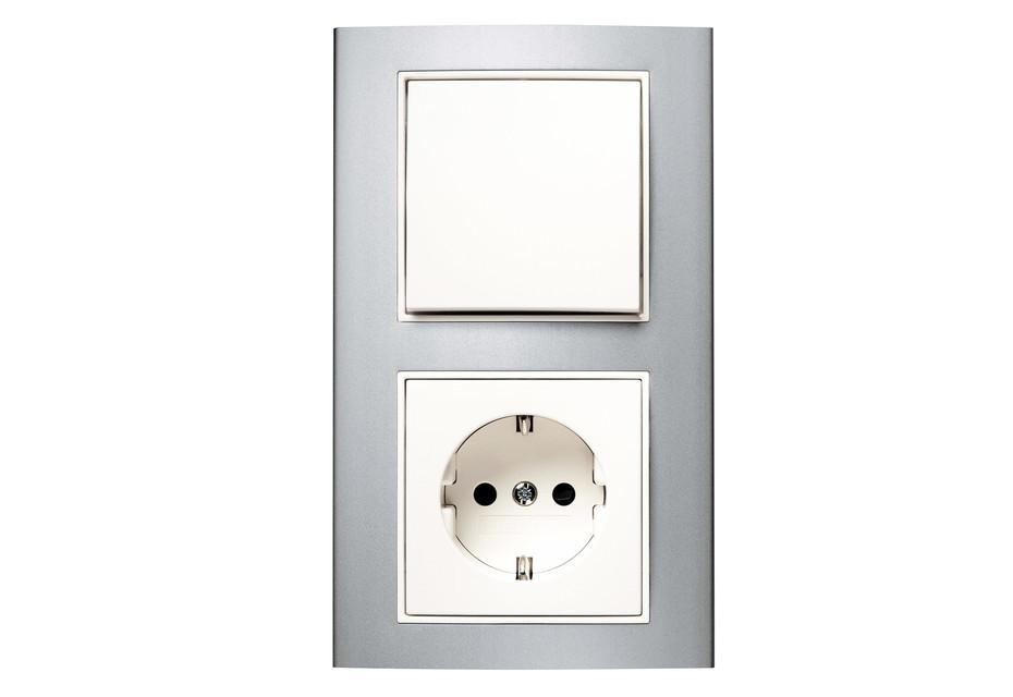 Berker - B.3 switch-socket-combination