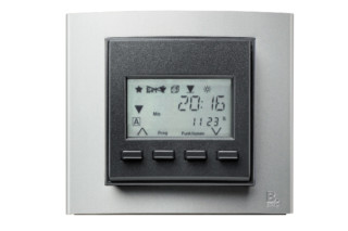 Berker - B.3 time switch with display  by  hager group