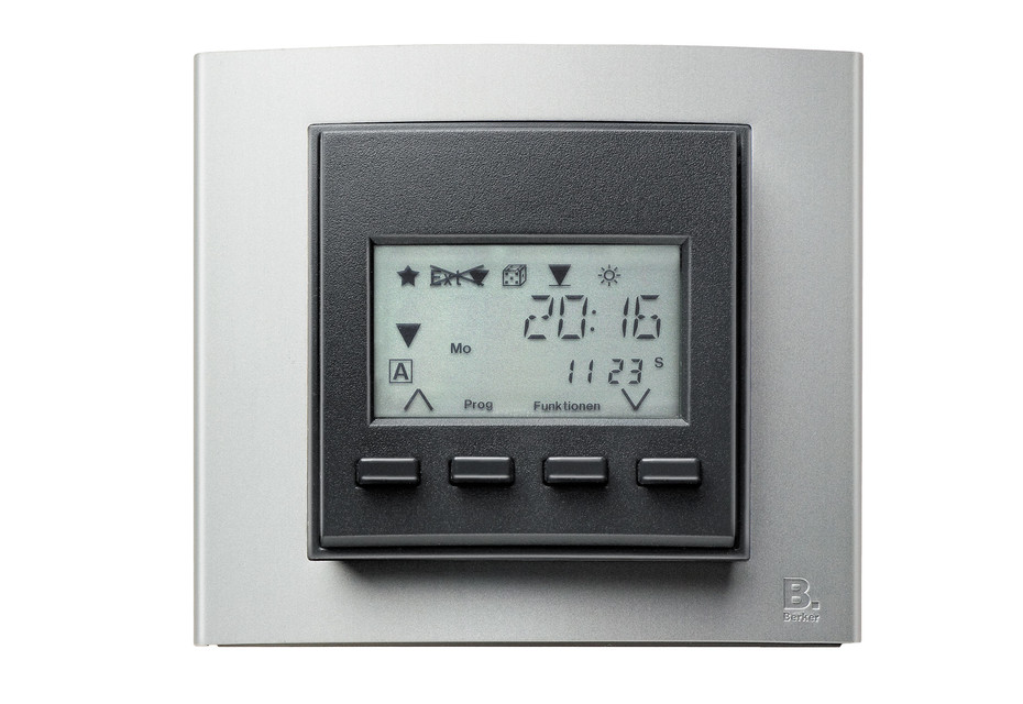Berker - B.3 time switch with display