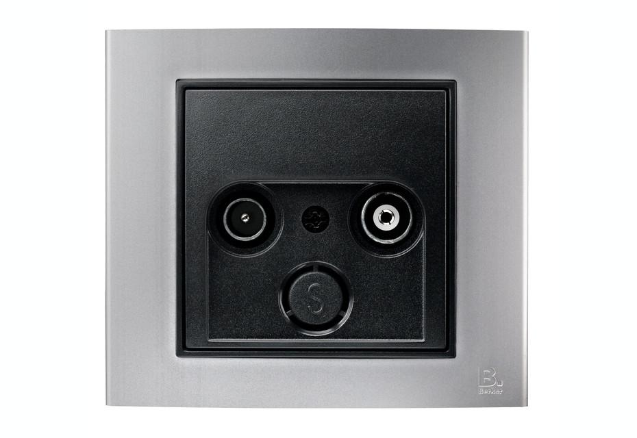 Berker - B.3 tv-socket