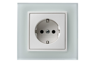 Berker - B.7 glass socket  by  hager group