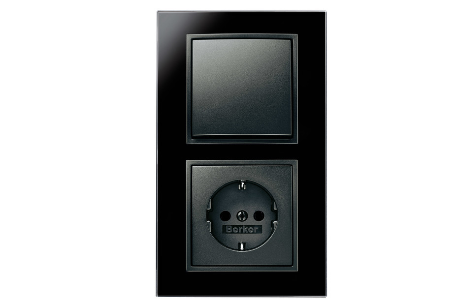 B.7 glass switch-socket-combination