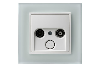 Berker - B.7 glass tv-socket  by  hager group