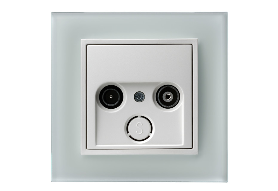 B.7 GLAS tv-socket