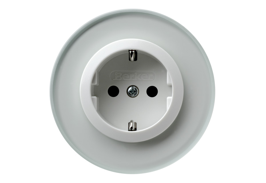 Berker - Glass series socket