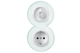 GLASSERIE  switch-socket-combination  by  Berker