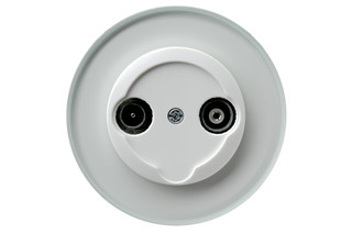 Glass series tv-socket  by  hager group