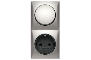 Integro Flow switch-stocker-combination  by  Berker
