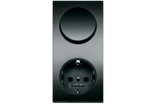 Integro Pure Schalter-Steckdosen-Kombinationen  von  Berker
