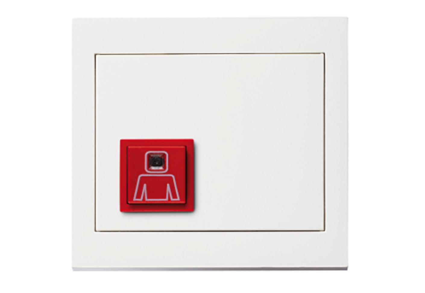 k 1 call button by berker stylepark. Black Bedroom Furniture Sets. Home Design Ideas