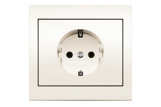 Berker - K.1 socket  by  hager group